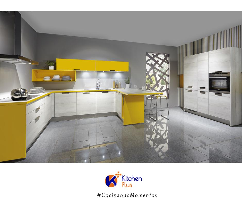 Muebles de cocina en color en Salamanca