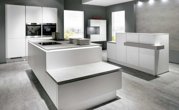 Muebles de cocina blancos en Salamanca