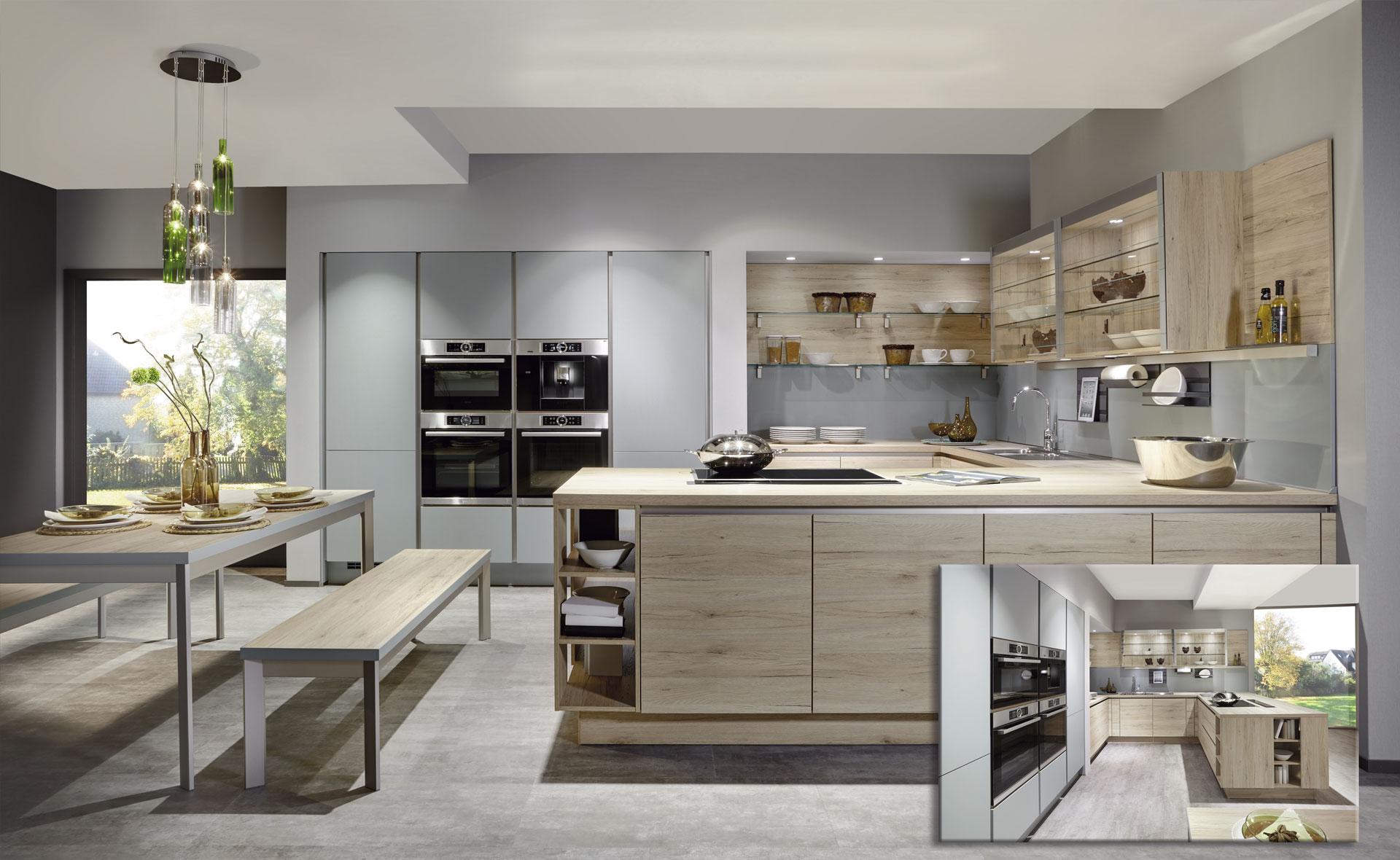Muebles de cocina en madera en Salamanca